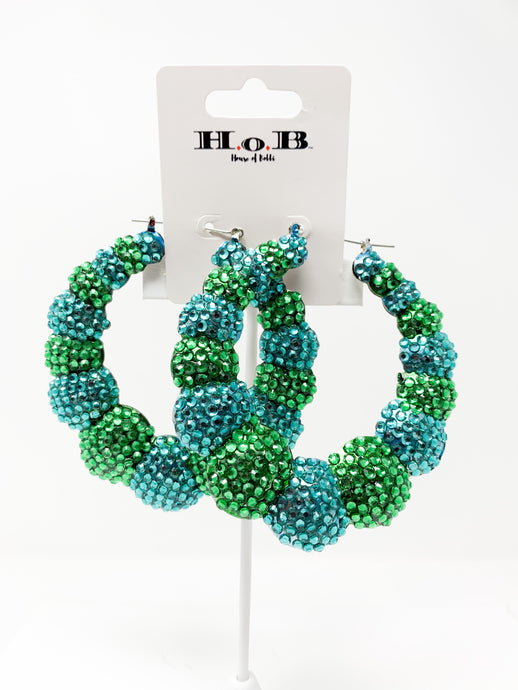 Big Shots Hoop Earrings