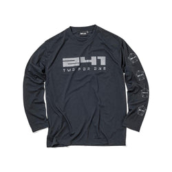 40%OFF 241COLLECTION 18-19 241-PENTAGON LOGO LONGSLEEVE TEE MB6820 - 241COLLECTION