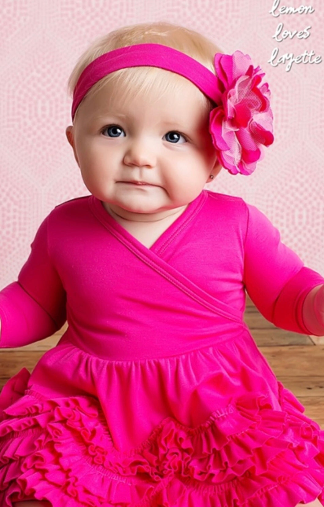 Pink Ruffle Baby Dress