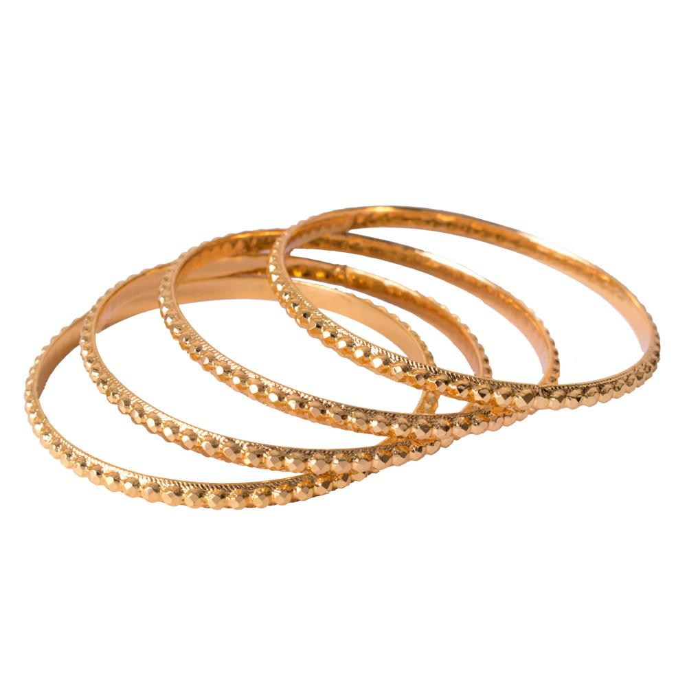 Stylish stud bangles