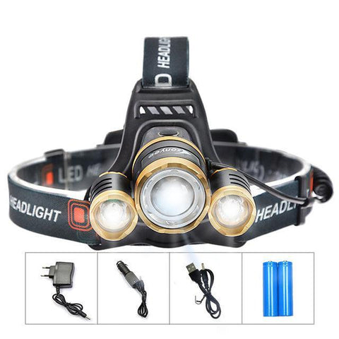 Rechargeable Headtorch