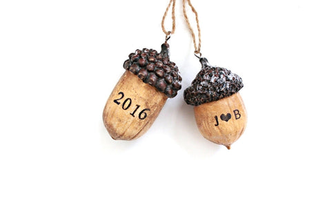 Acorn Christmas Ornaments