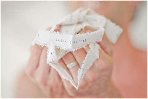 Personalized Wedding Ribbon