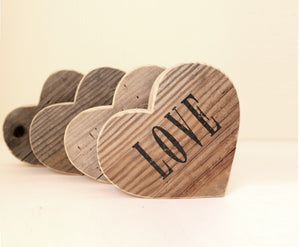 5th Anniversary Gift Wood Heart