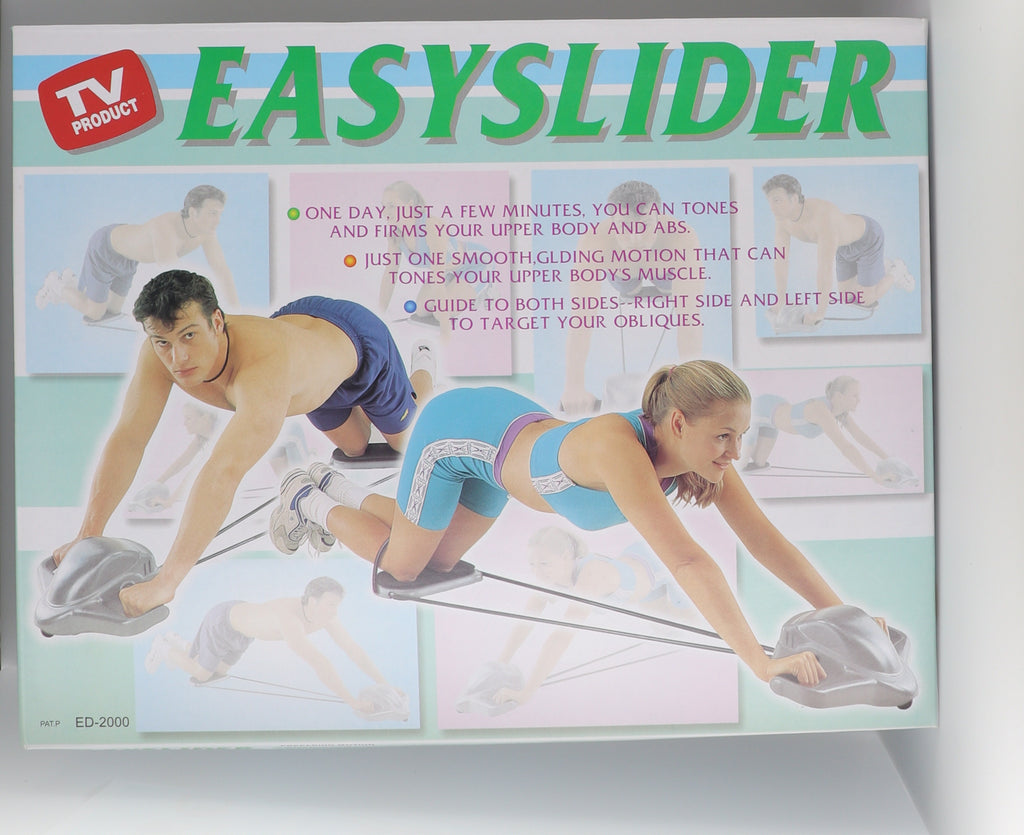 Easy Slider- AB Deluxe Roller- Compete Upper Body Workout Kit