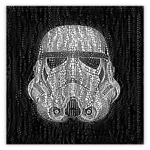 Black And White Trooper