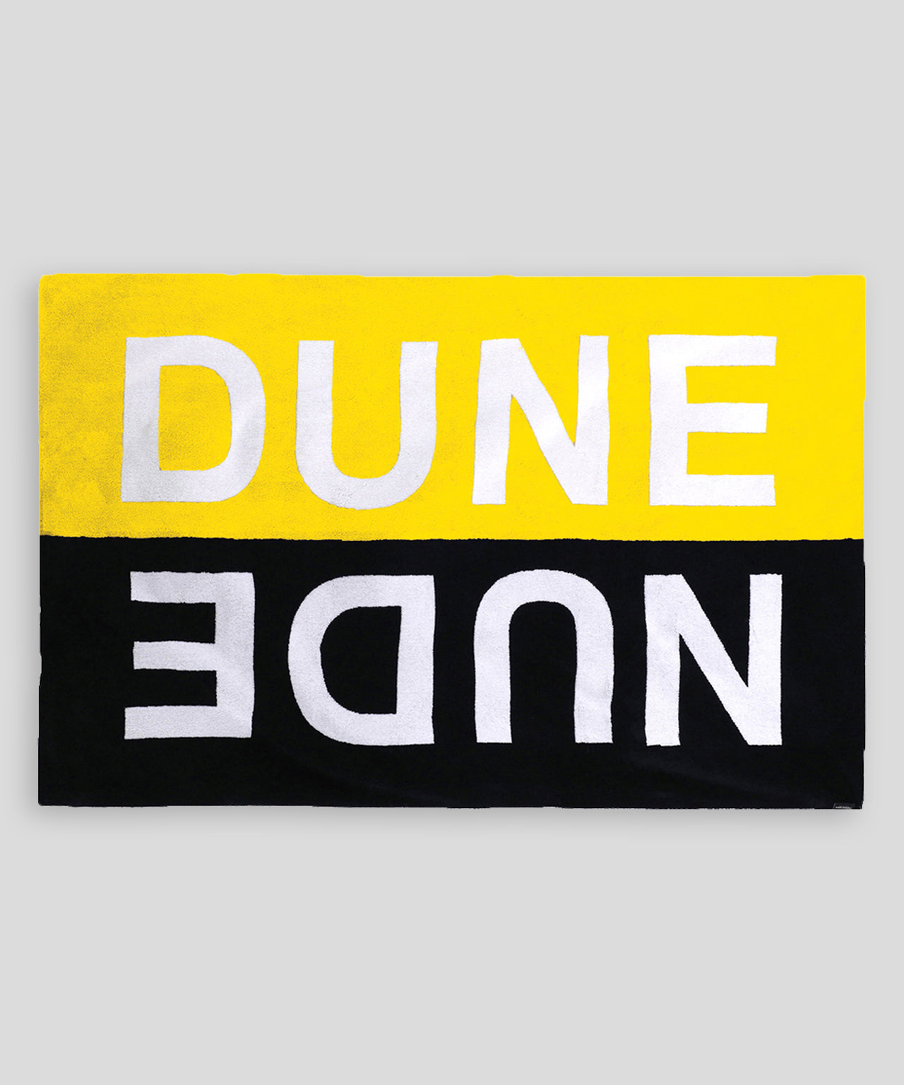 Beach Towel DUNE NUDE - yellow