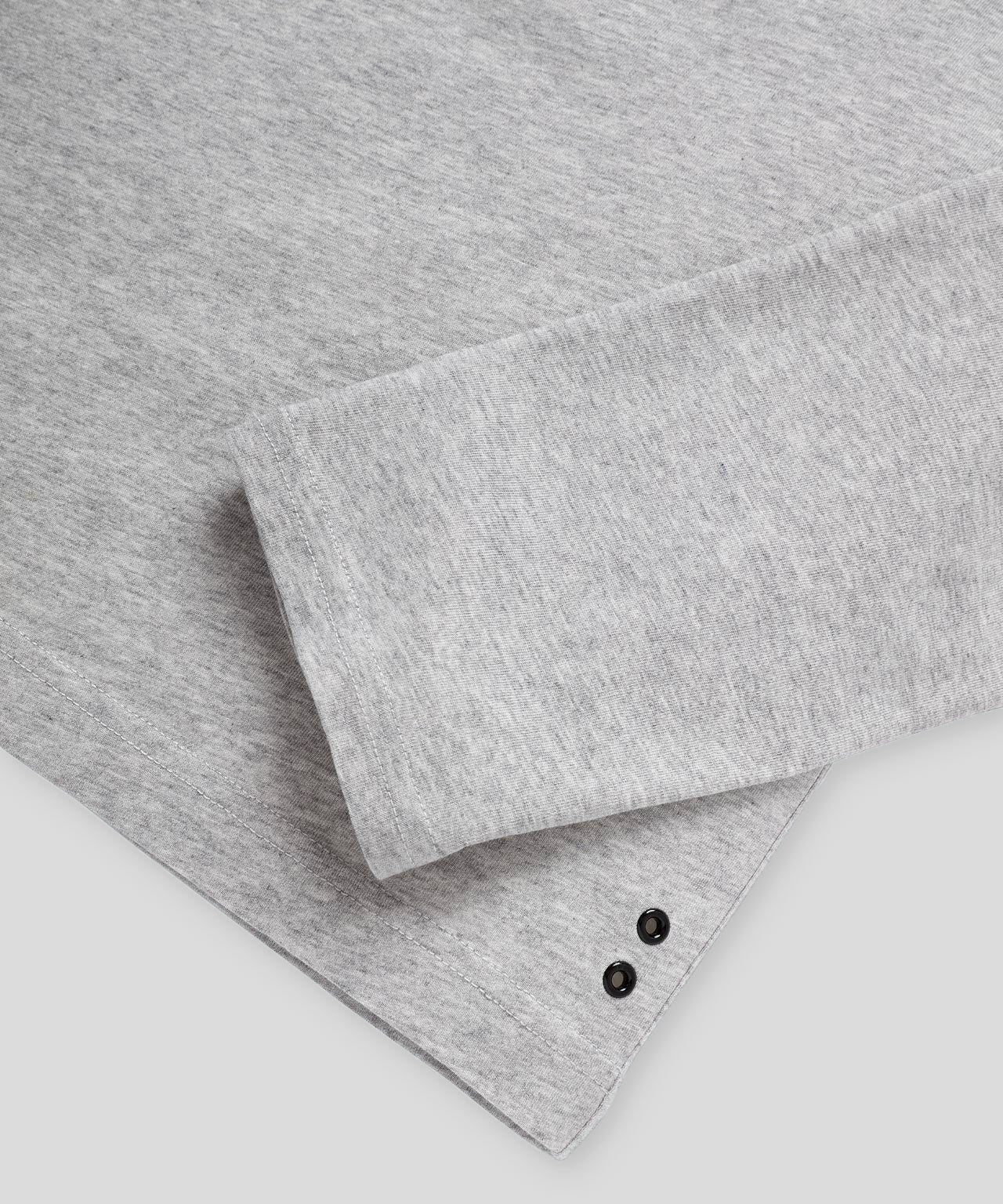 Long-Sleeved T-Shirt - grey melange
