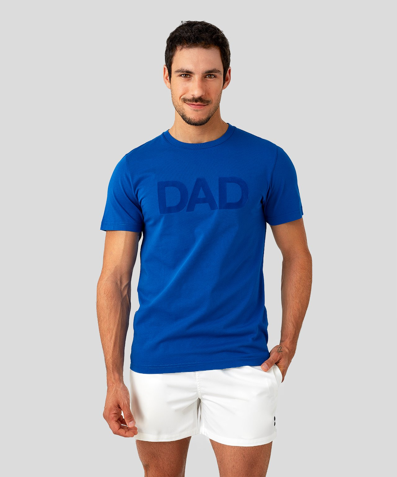 T-Shirt DAD - electric blue