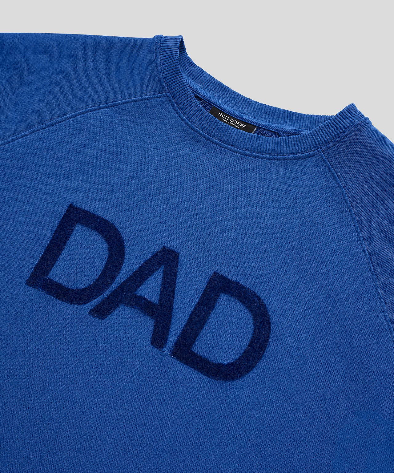 Sweatshirt DAD - electric blue