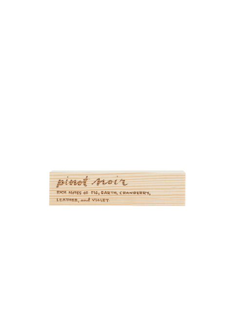 Engraved Pinot Noir Block