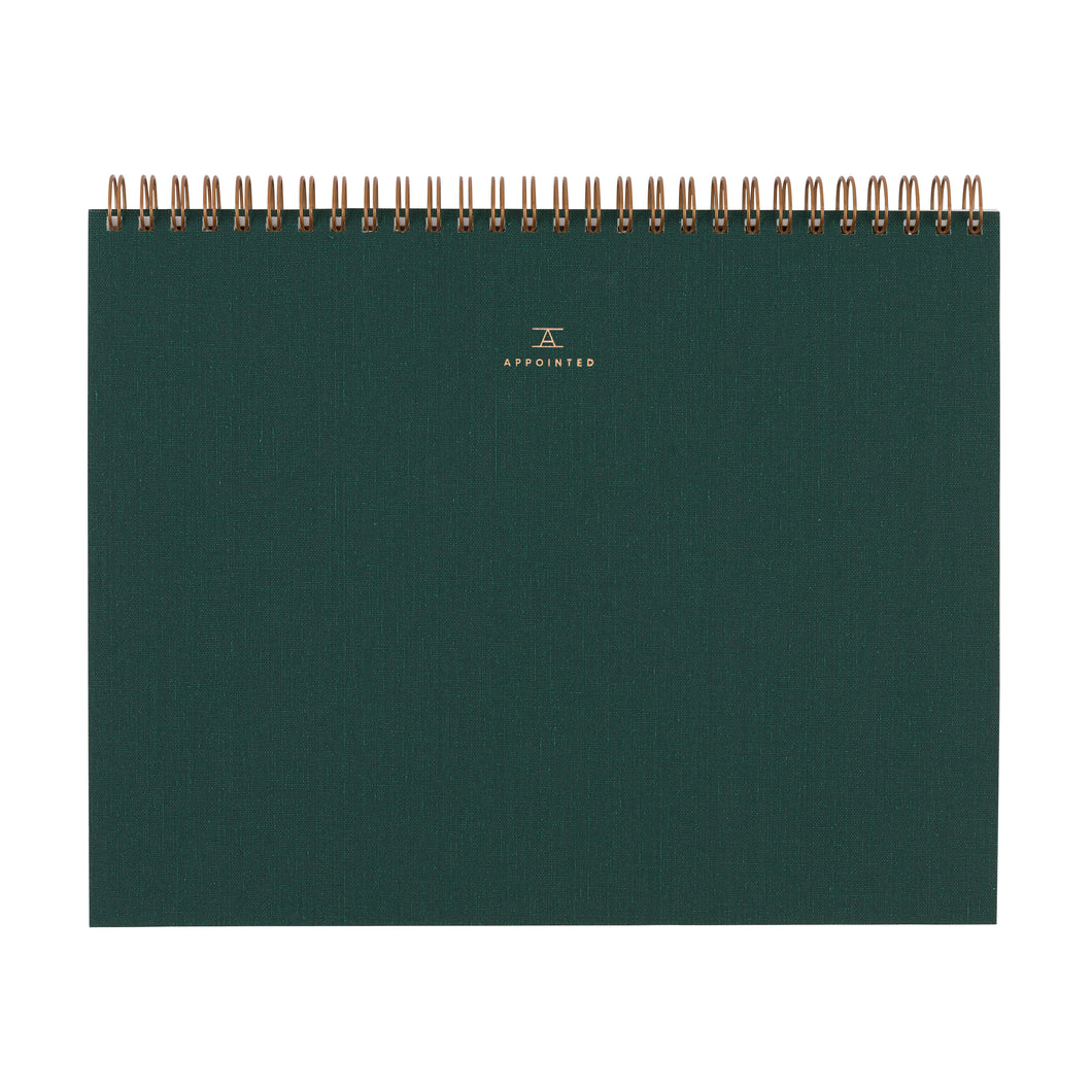 Sketch Pad - Hunter Green