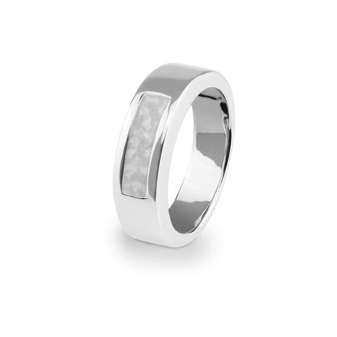 Unisex Pure Memorial Ashes Ring - Cherished Urns