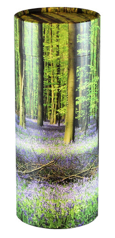 Bluebell Forest Design Eco-Friendly Scattering Tube - Large Adult - Cherished Urns