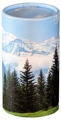 Mountain View Design Eco-Friendly Scattering Tube - Small - Cherished Urns