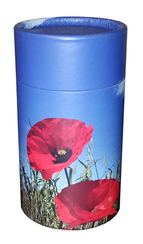 Poppy Design Eco-Friendly Scattering Tube - Small - Cherished Urns