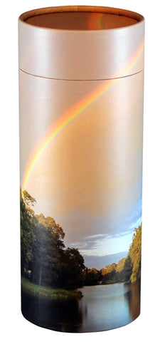 Rainbow Pond Design Eco-Friendly Scattering Tube - Large Adult - Cherished Urns