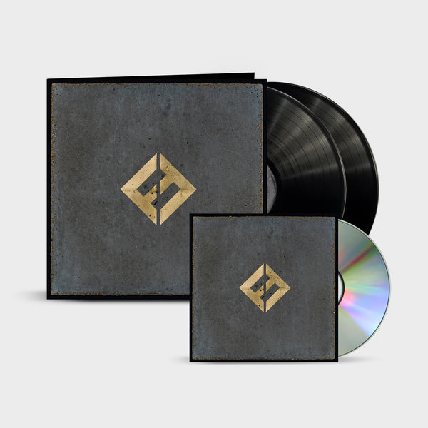 Concrete and Gold CD + 2LP