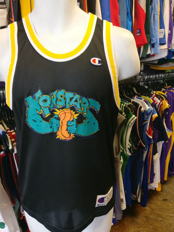 Vintage #0 MONSTARS Tune Squad Space Jam Jersey 14-16 - #XL3VintageClothing