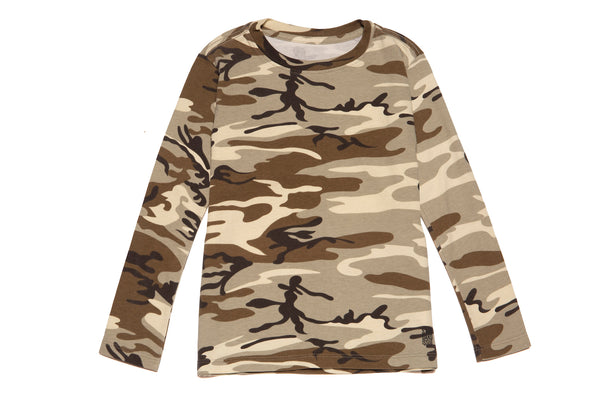 KIDS CAMO LONG SLEEVE