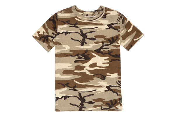 KIDS CAMO SHORT SLEEVE
