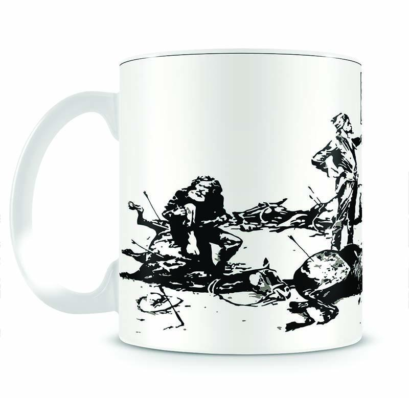 Banksy Luxury Loft Cup - Canvas Art Rocks - 2