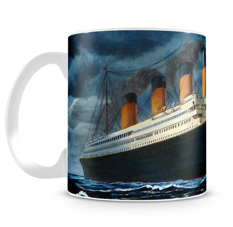 Titanic Cup - US Canvas Art Rocks