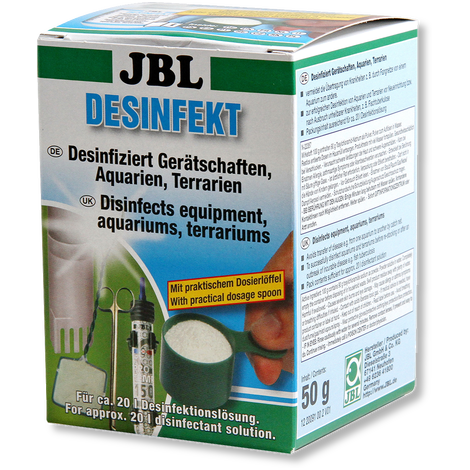JBL Desinfekt Disinfectant For Aquarium Equipment.