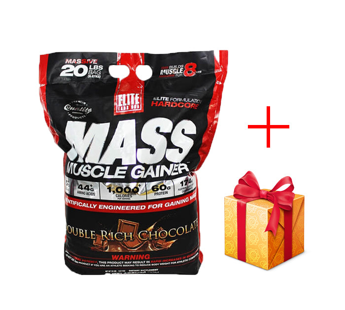 Elite Mass Muscle Gainer 20Lbs