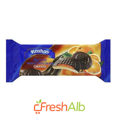 Biscuits with Orange & Chocolate Krakus 135 g