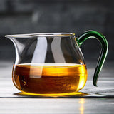 The Fair Cup of Tea Is Divided Into Thick Heat-resistant Glass Tea with Tea Kung Fu Tea set 350ml