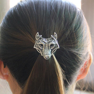 True Vikings 3x Silver Fenrir Hair Band (Set Of 3)