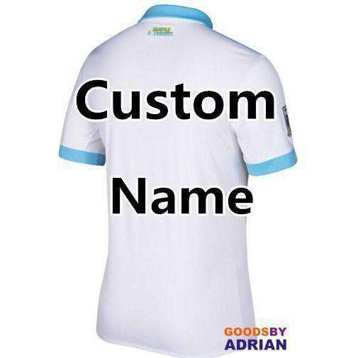 Seattle Sounders White Soccer Jerseys- - GoodsByAdrian