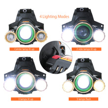 Load image into Gallery viewer, LED 24H, USB charging 180 degree Head Lamp