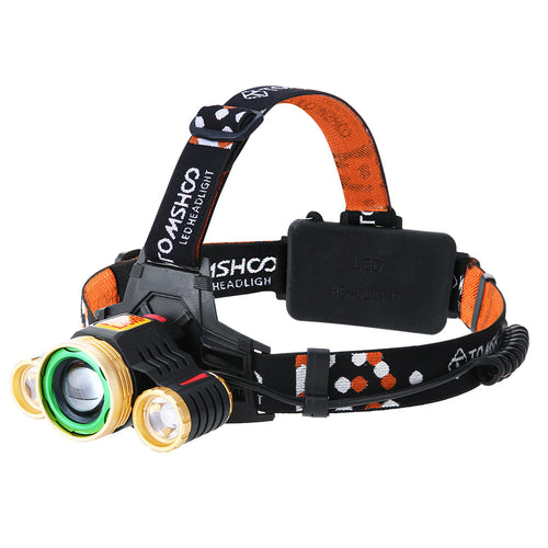 LED 24H, USB charging 180 degree Head Lamp