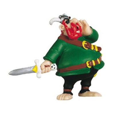 Pirate Captain Asterix Figure Plastoy Cake Topper