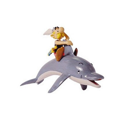 Asterix on Dolphin Asterix Figure Plastoy Cake Topper