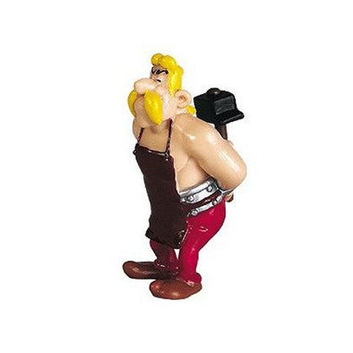 Fulliautomatix (The Smith) Asterix Figure Plastoy Cake Topper
