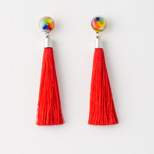 Lollipop Tassel Earrings