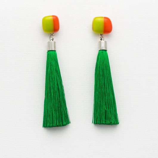 Summer Breeze Tassel Earrings