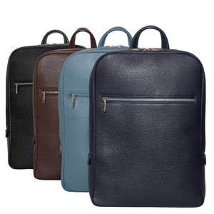 Classic Italian Leather Backpacks by DiLoro Switzerland