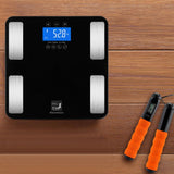 Step-on Digital Smart Bathroom Scale for measuring body fat accurately