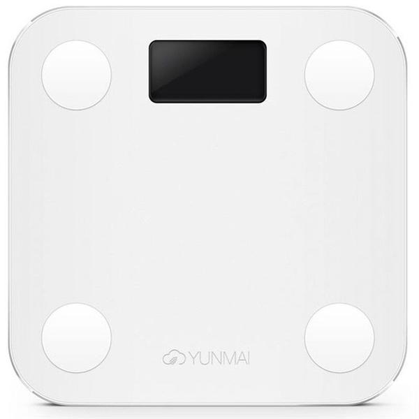 White Smart Scale -  know your body fat percentage with IOS/Android app
