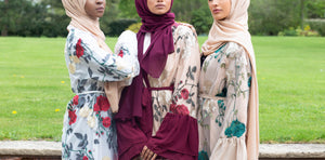 Aaliya Collections floral blossom abayas