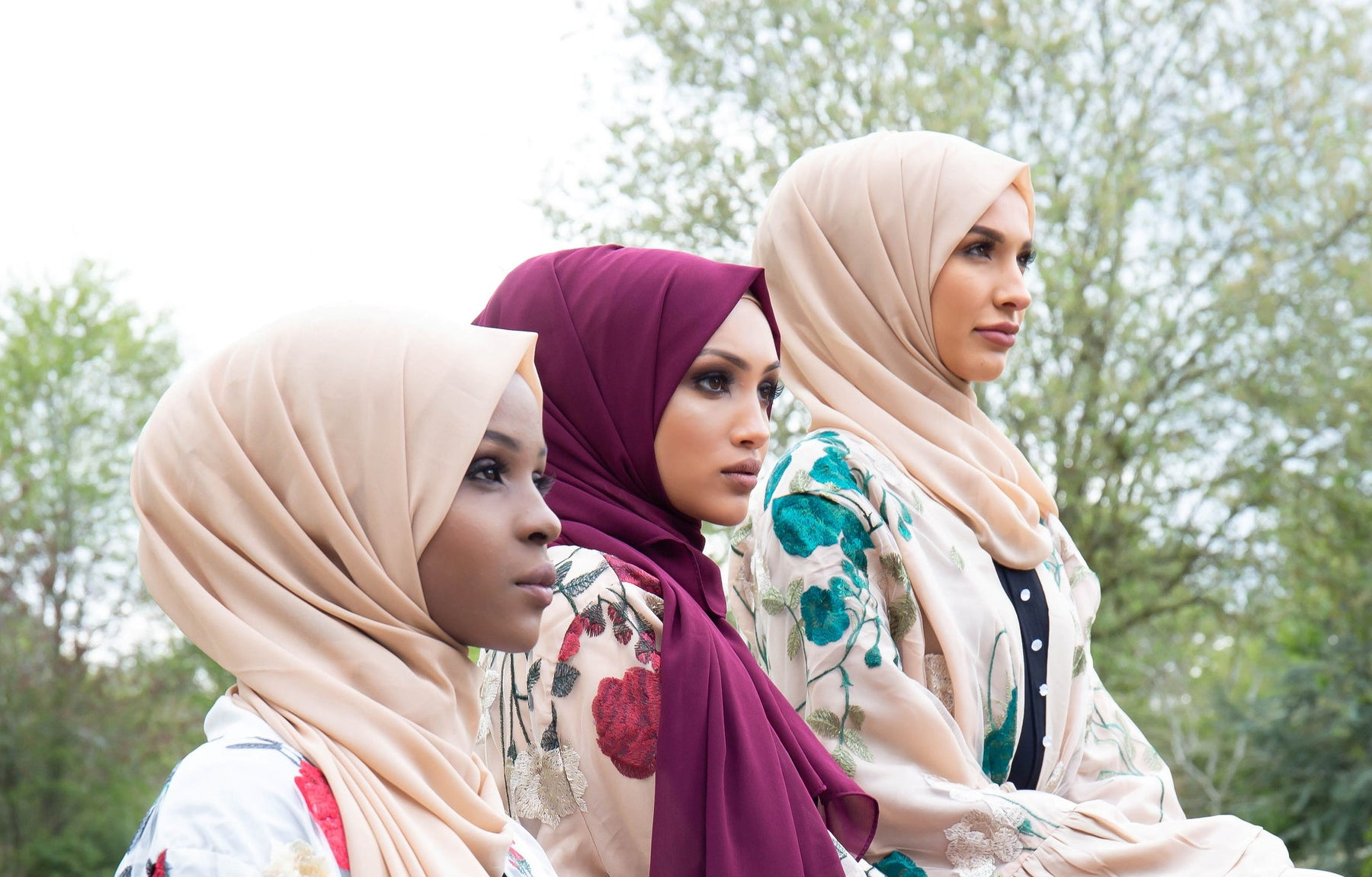 Aaliya Collections Hijabs collection