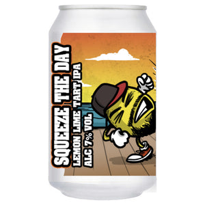 Wild Weather Ales - Squeeze the Day - Lemon Lime Tart IPA - 330ml Can