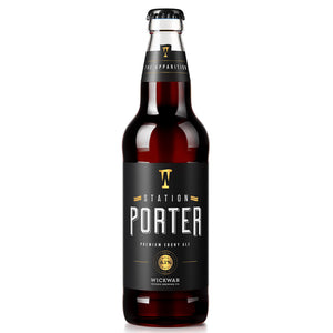 Wickwar Brewery - Station Porter - Ebony Ale - 500ml Bottle