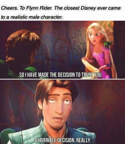flynn rider is the best