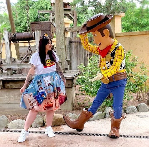 woody outfit meets