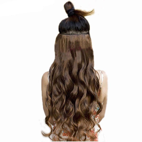 Curly Full Head Clip Hair Extensions